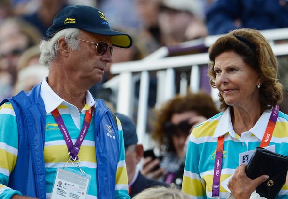 Queen+Silvia+Olympics+Day+12+Equestrian+