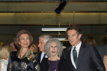 Queen Sofia Alfonso Diez Queen Sofia of Spain Attends 'El Legado Casa de Alba' Art Exhibition