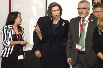 Queen Sofia Queen Sofia Attends Alzheimer Congress in Valladolid