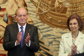 Queen Sofia King Juan Carlos and Queen Sofia Attends 25th Anniversary Tribute of Seville Universal Exhibition