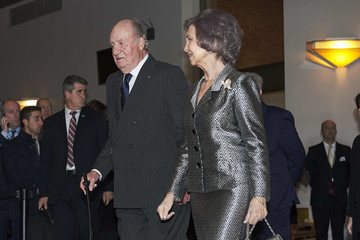 Queen Sofia King Juan Carlos I Spanish Royals Attend Concert Tribute For Victims Of Terrorism