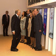 Queen Sofia Spanish Royals Inaugurate Exhibition 'Democracy 1978-2018' In Madrid