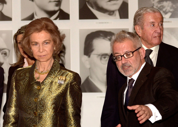 Queen Sofia - Queen Sofia of Spain Attends 25th Anniversary of MACBA
