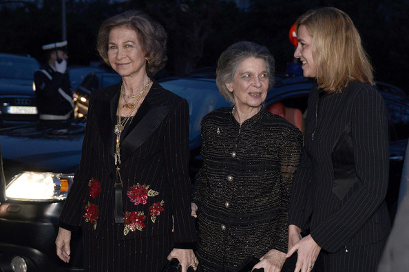 Royal Documentary Screening in Athens [sofia of spain attends a documentary,documentary,event,fashion,car,little black dress,performance,queen,paul i,sofia,father,athens,greece,spain,screening]