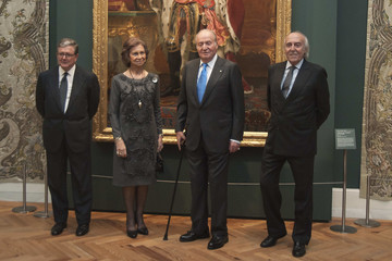 Queen Sofia Spanish Royals Attend 'Carlos III' Exhibition Opening