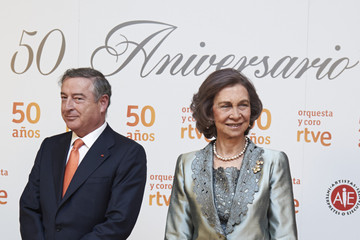 Queen Sofia Queen Sofia of Spain Attends RTVE Orchestra 50th Anniversary Concert