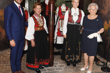 Queen Sonja Norwegian Royals Attend 'Tradition And Inspiration. National Heritage In The Royal Collections'