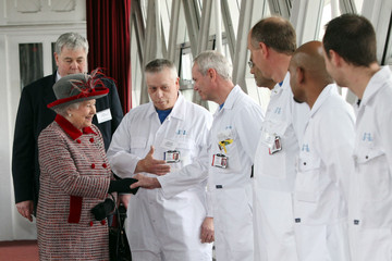 Charlie Harrison The Queen Spends The Day At City Of London Landmarks