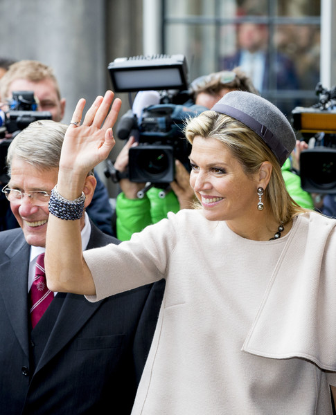King Willem Alexander Of The Netherlands And Queen Maxima Of The Netherlands Visit Council Of State