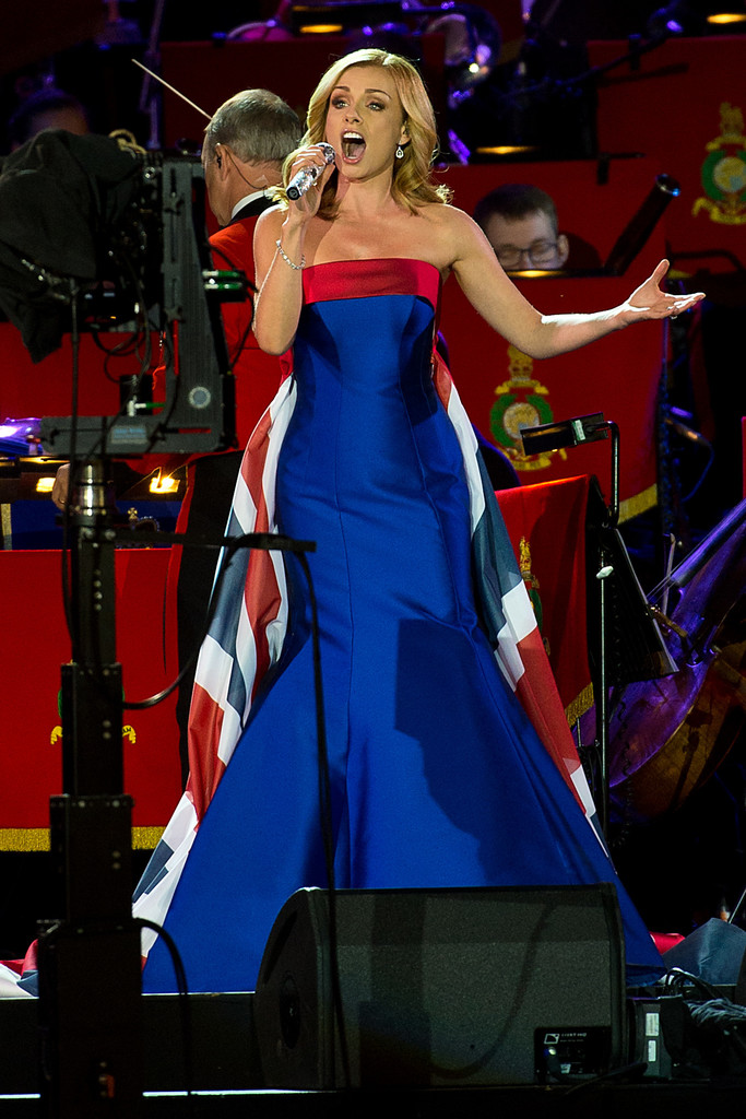 Katherine Jenkins In The Queens 90th Birthday Celebrations At Windsor