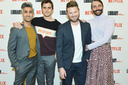 "Cast members of ""Queer Eye"" (left-right) Tan France, Antoni Porowski, Bobby Berk and Jonathan Van Ness at The Library of Congress on April 03, 2019 in Washington, DC."