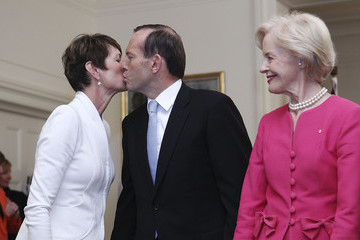 Quentin Bryce Tony Abbott Tony Abbott's Government Sworn in at Government House