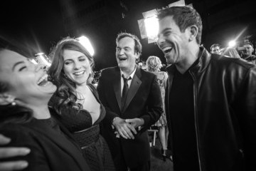 Quentin Tarantino Eli Roth World Premiere of The Weinstein Company's 'The Hateful Eight'