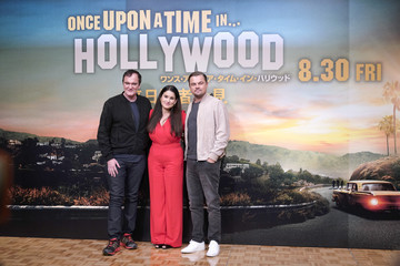 Quentin Tarantino Leonardo DiCaprio 'Once Upon A Time In Hollywood' Japan Premiere - Press Conference