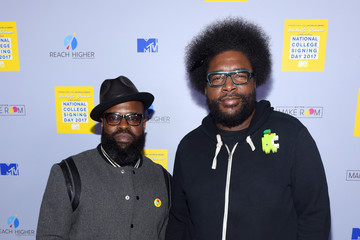 Questlove MTV's 2017 College Signing Day with Michelle Obama - Arrivals