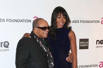 Quincey Jones 21st Annual Elton John AIDS Foundation's Oscar Viewing Party - Arrivals