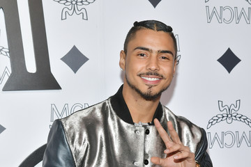 Quincy Brown MCM Global Flagship Store Grand Opening On Rodeo Drive - Arrivals