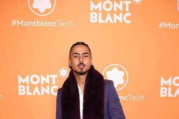 Quincy Brown Montblanc Celebrates The Launch Of MB 01 Headphones & Summit 2+ With NYC Event
