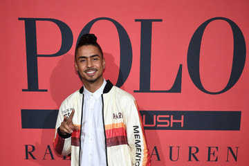 Quincy Brown Polo Red Rush Launch Party With Ansel Elgort