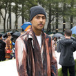 Quincy Brown Moschino SS22 Show - Front Row