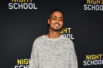 Quincy Brown 'Night School' Red Carpet Screening With Kevin Hart And Will Packer At Regal Atlantic Station