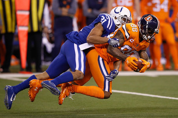 Quincy Wilson Denver Broncos v Indianapolis Colts