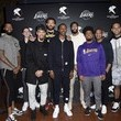 Quinn Cook First Entertainment x Los Angeles Lakers and Anthony Davis Partnership Launch Event, March 4 in Los Angeles