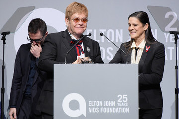 Quinn Tivey Elton John AIDS Foundation Commemorates Its 25th Year and Honors Founder Sir Elton John During New York Fall Gala - Show