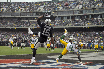 Quinten Rollins Green Bay Packers v Oakland Raiders