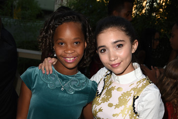 Quvenzhane Wallis Guests Attend a Screening of GKIDS' 'Kahlil Gibran's The Prophet'