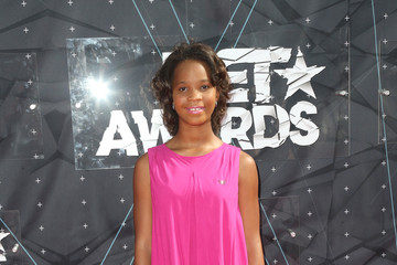 Quvenzhane Wallis Celebs Arrive at the 2015 BET Awards
