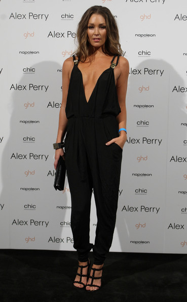 Media personality Erin McNaught arrives at the Alex Perry collection show on the second day of Rosemount Australian Fashion Week Spring/Summer 2010/11 off-site at Fox Studios on May 4, 2010 in Sydney, Australia. RAFW is celebrating its 15th anniversary this year, with more than 100 designers showcasing their collections in 63 shows during the five day event.