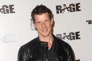 "Actor Eric Mabius arrives to the official launch party for Bethesda Software's most anticipated video game ""Rage"" on September 30, 2011 in Los Angeles, California."
