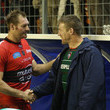 Ali Williams and Brad Thorn