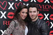 REVLON Kicks Off National Lover's Day With Kevin And Danielle Jonas At The Revlon LOVE IS ON Pop-up Shop