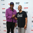 Al Harrington and Karim Webb Photos