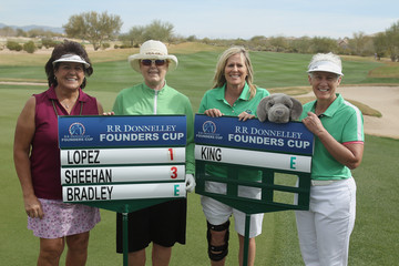 Betsy King RR Donnelley LPGA Founders Cup - Round Three