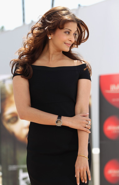 "Actress Aishwarya Rai Bachchan attends the ""Raavan"" Photocall at the Salon Diane at The Majestic during the 63rd Annual Cannes Film Festival on May 17, 2010 in Cannes, France."