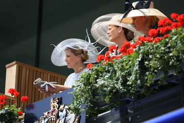 Sophie Countess of Wessex Racegoers Arrive For Day Two Of Royal Ascot