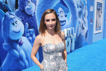 Rachael Leigh Cook Premiere Of Warner Bros. Pictures' 'Smallfoot' - Red Carpet