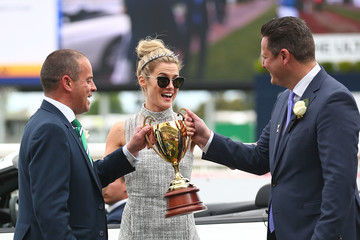 Rachael Taylor Caulfield Cup Day