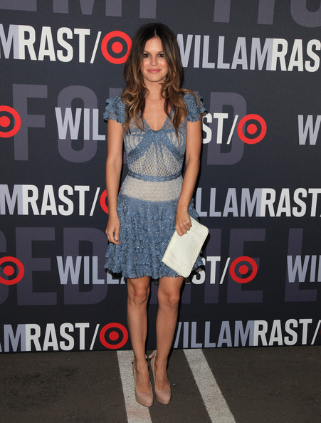 Rachel Bilson Actress Rachel Bilson arrives at the launch of Target's & William Rast's Limited Edition Collection shopping event at Factory Place on December 11, 2010 in Los Angeles, California.