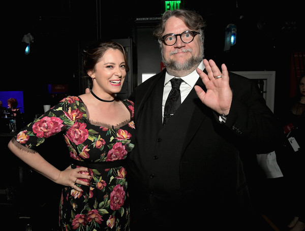 SAG-AFTRA Foundation's 3rd Annual Patron of the Artists Awards [event,formal wear,fashion,fun,eyewear,smile,suit,glasses,dress,hand,beverly hills,california,wallis annenberg center for the performing arts,sag-aftra foundations 3rd annual patron of the artists awards,rachel bloom,guillermo del toro]