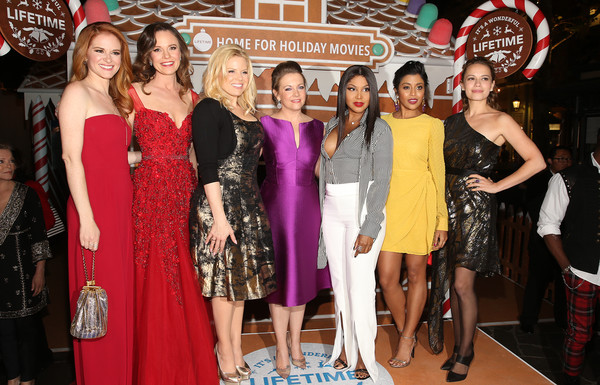 """In Celebration Of """"It's A Wonderful Lifetime,"""" Stars Of The Network's Christmas Movies Attend The VIP Opening Night Of The Life-sized Gingerbread House"""