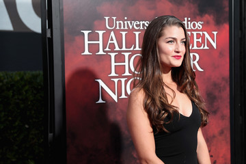 Rachel Matthews Halloween Horror Nights Opening Night Red Carpet
