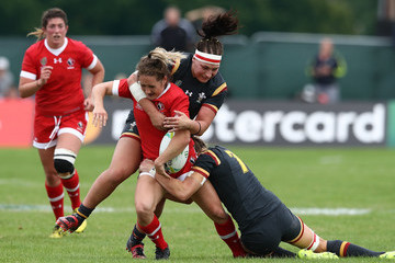 Rachel Taylor Canada v Wales - Women's Rugby World Cup 2017