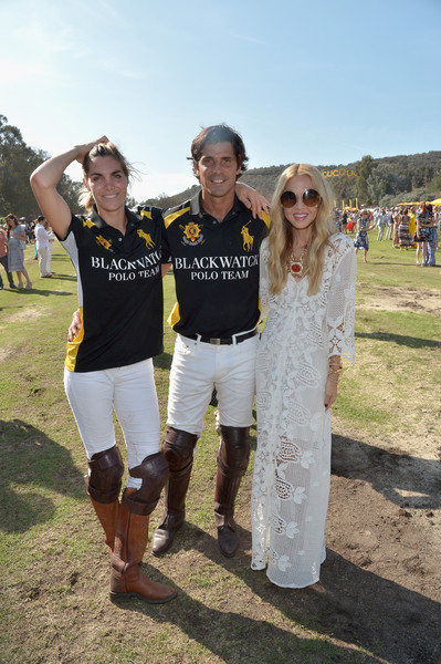 Sixth-Annual Veuve Clicquot Polo Classic, Los Angeles - Inside [yellow,fun,tree,team,event,recreation,t-shirt,competition event,rachel zoe,co-hosts,nacho figueras,delfina blaquier,sixth,l-r,los angeles,will rogers state historic park,pacific palisades,veuve clicquot polo classic]