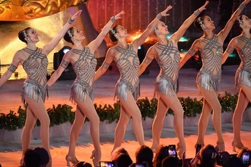 Radio City Rockettes 85th Rockefeller Center Christmas Tree Lighting Ceremony