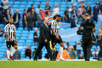 Rafael Benitez Manchester City vs. Newcastle United - Premier League