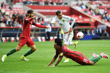 Rafael Marquez Portugal v Mexico: Play-Off for Third Place - FIFA Confederations Cup Russia 2017